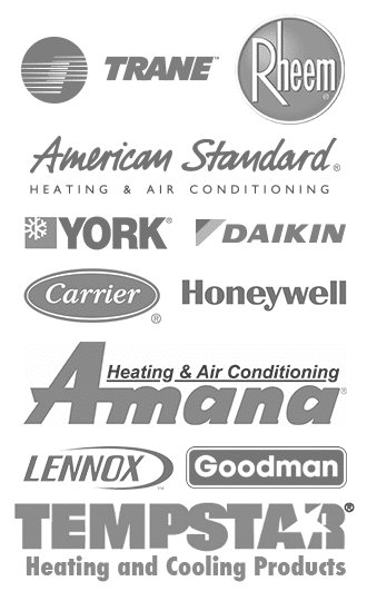 Gator Air and Energy repairs AC units in Gainesville, FL from manufacturers such as Trane, Rheem, American Standard, Daikin, Carrier, Honeywell, Ammana, Lennox, Goodman, and Tempstar