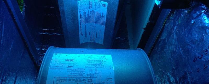 HVAC UV Lights Indoor Air Quality