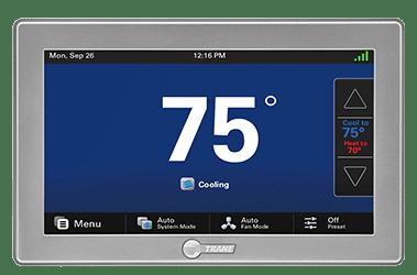 smart thermostat trane