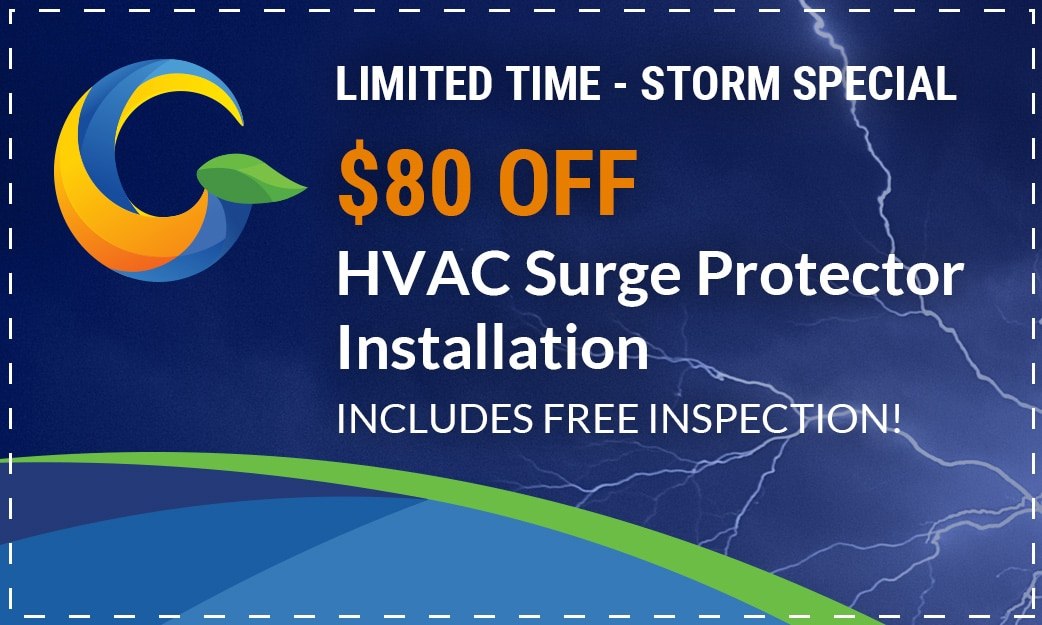 Storm Special HVAC Surge Protector Installation Gator Air & Energy Gainesville, FL