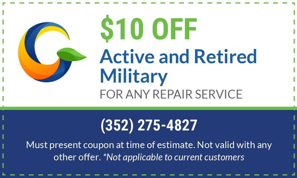 Gator Air & Energy Specials Military and Veterans Gainesville FL