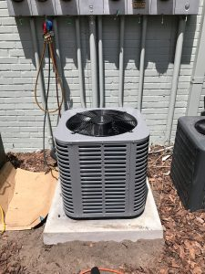primary heat pump outdoors in Gainesville, FL